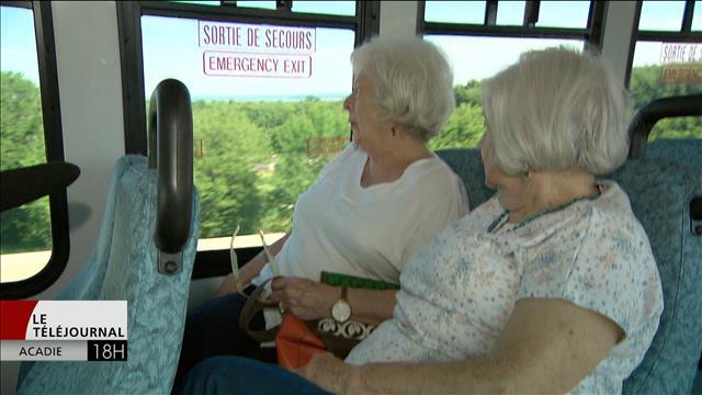 Un foyer de soins de Gagetown utilise son minibus pour offrir un service de transport aux aînés