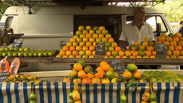 Dans un marché près de chez vous... à Rio