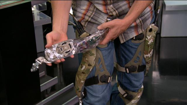 Chronique techno : un exosquelette bionique