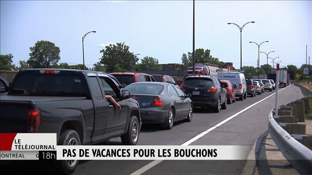 La circulation à Montréal pénible