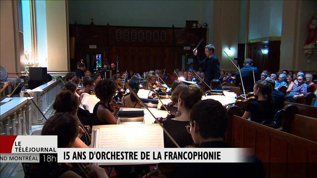 L'Orchestre de la Francophonie en tournée