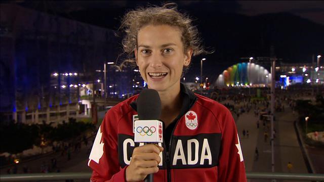 Geneviève Lalonde raconte son expérience olympique