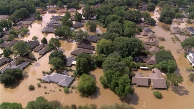 Des inondations sans précédent aux États-Unis