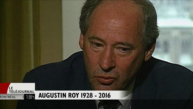 Décès d'Augustin Roy
