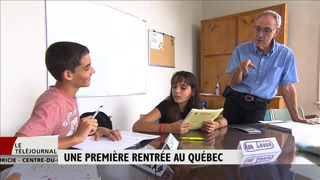 Une première rentrée québécoise pour des immigrants à Trois-Rivières