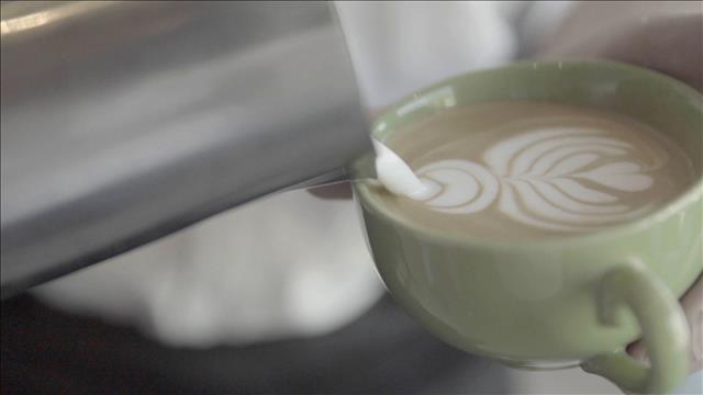 Art Latte au Régine Café