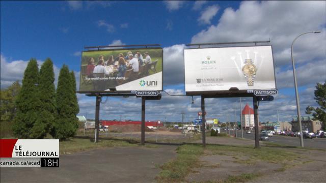Des publicités qui font jaser à Moncton