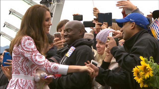 Le duc et la duchesse de Cambridge visitent Vancouver