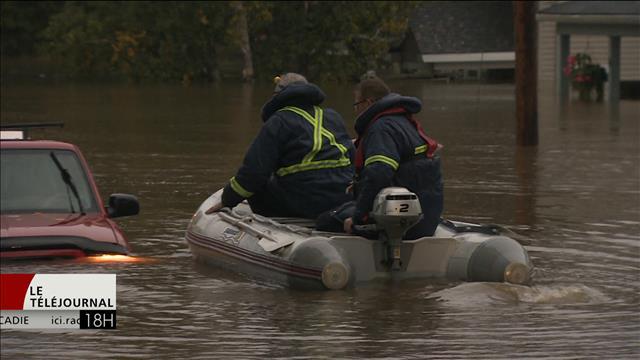 La Nouvelle-Écosse se remet des inondations et pannes d'électricité
