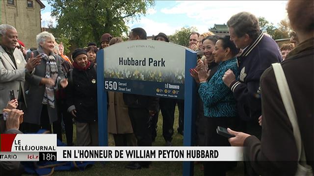 Hommage à William P. Hubbard, le premier élu noir de l'histoire de Toronto