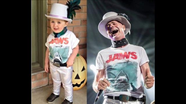 Un « mini » Gord Downie pour l'Halloween