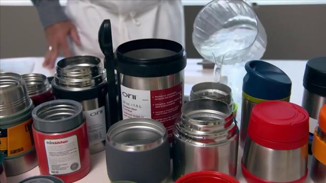Les contenants isolants au banc d'essai
