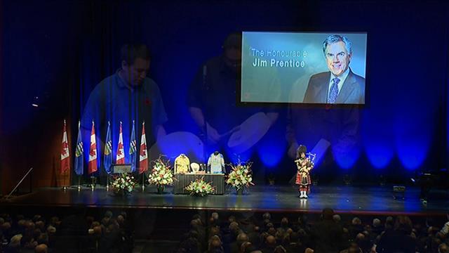 La mémoire de l'ancien premier ministre albertain Jim Prentice célébrée