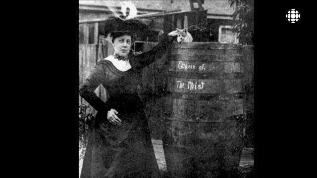 Le grand plongeon d'Annie Edson Taylor à Niagara