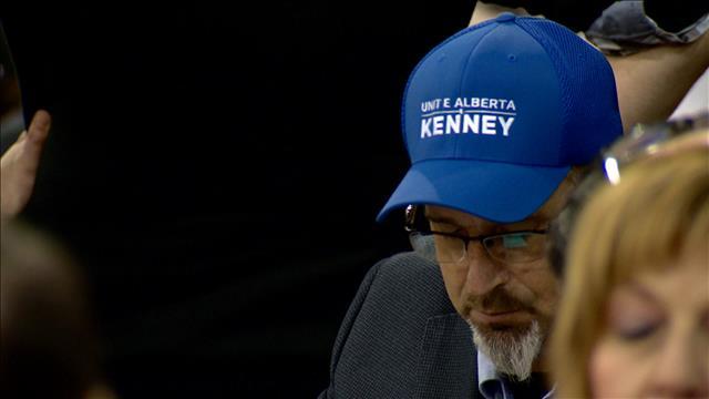 Démonstration de force pour Jason Kenney