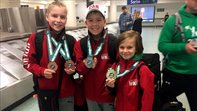 Des athlètes de Québec s'illustrent en Irlande