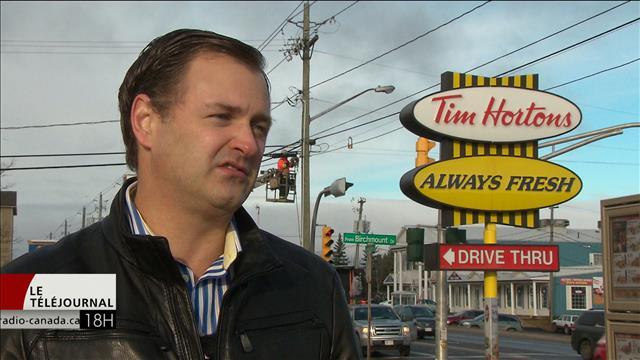 Le sud-est du Nouveau-Brunswick, l'eldorado de Tim Hortons au Canada