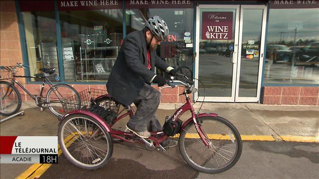 Un cycliste de la région de Moncton lance un cri du coeur aux automobilistes
