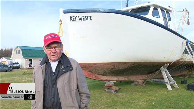 72 ans de pêche et de souvenirs pour Alcide Arsenault de l'Î.-P.-E.