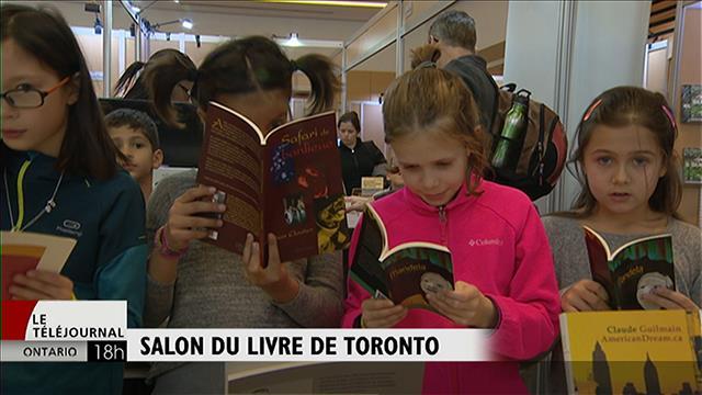 Les jeunes au Salon du livre de Toronto