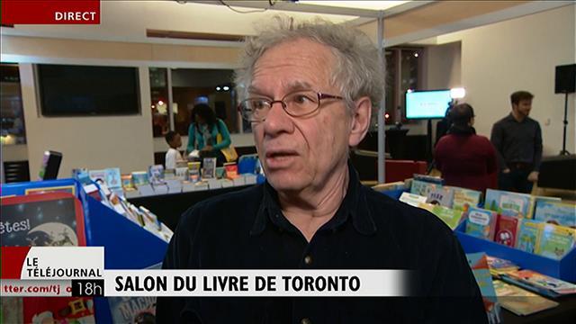 L'écrivain Yves Beauchemin au Salon du livre de Toronto
