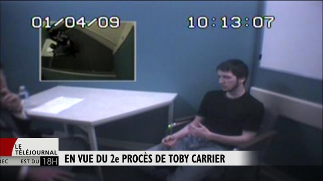 Toby Carrier : décision sur le lieu du procès à la mi-janvier