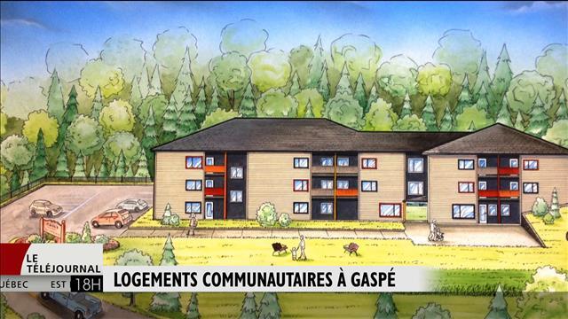 Début de la construction des logements communautaires à Gaspé