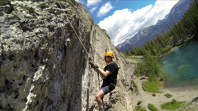 Battre les sentiers : Escalade aux lacs Grassi
