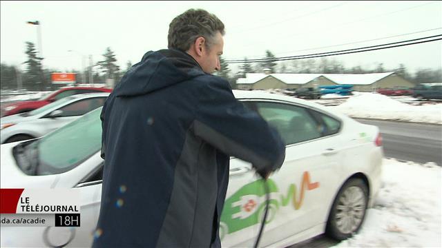 Place aux voitures électriques au Nouveau-Brunswick