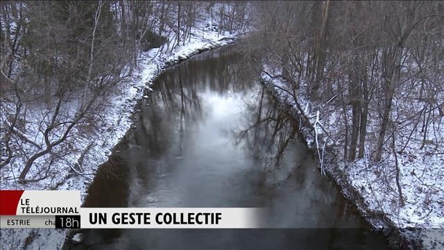 Une charte au secours de la rivière Saint-Germain dans le Centre-du-Québec