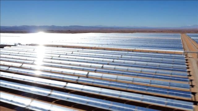 La centrale solaire Noor