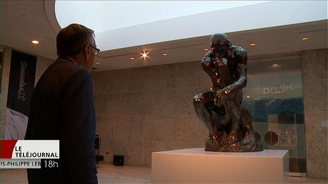 Le Penseur de Rodin au Musée des beaux-arts de Winnipeg