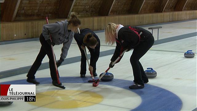 Attirer la jeunesse manitobaine vers le curling