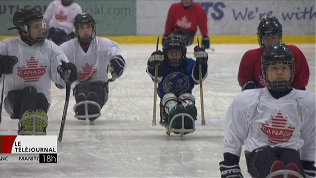Connaissez-vous le hockey luge?