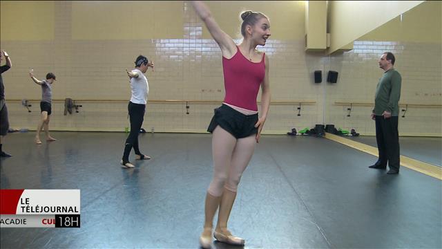 Tournée Piaf pour le Ballet-théâtre Atlantique du Canada en Europe