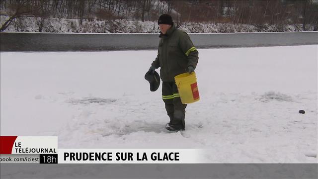 Prudence sur la glace