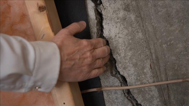 Fissures dans les murs de sa fondation : expertises contradictoires