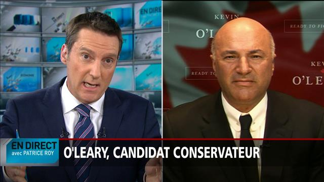 Entrevue avec Kevin O'Leary, candidat conservateur