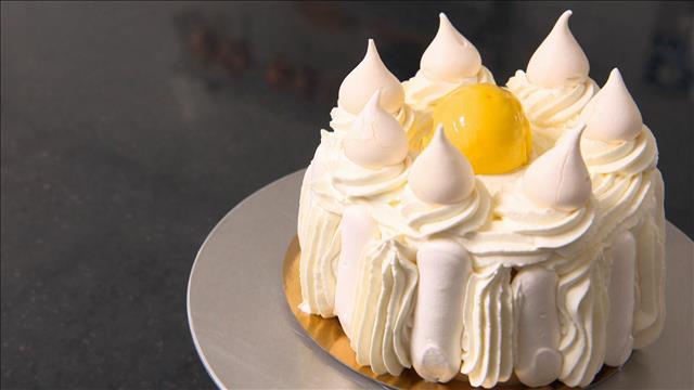 Le vacherin? Un dessert glacé...vachement bon!