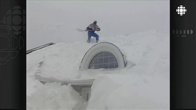 Moncton : la « tempête du siècle » de 1992