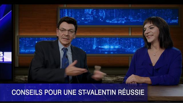 Préparez votre Saint-Valentin avec Pascale Wilhelmy et Denis Lévesque