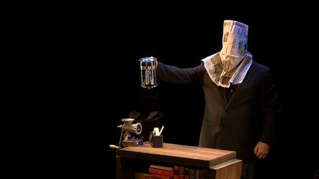 Théâtre : «Richard, le polichineur d'écritoire»