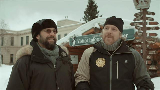 Fabien Cloutier et Michel Rivard vont en Alaska