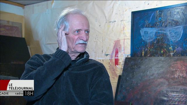 Une exposition consacrée au peintre Roméo Savoie en Nouvelle-Écosse