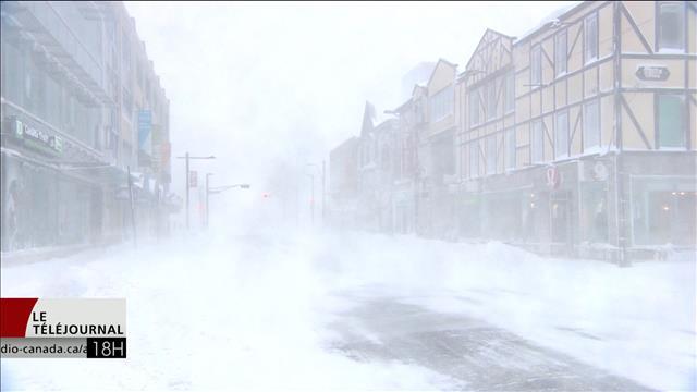 Halifax est paralysée par un blizzard