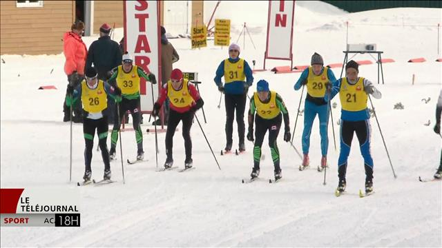 Des athlètes peu ordinaires prennent le départ au Championnat des maîtres en ski de fond à Charlo au Nouveau-Brunswick