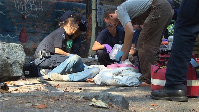 Journée d'action contre la crise des surdoses à Vancouver