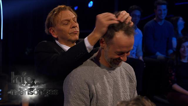 Marc et son coiffeur