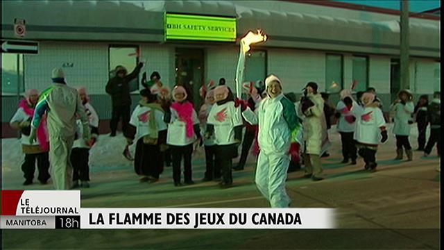Dévoilement du parcours du relais de la flamme des Jeux du Canada