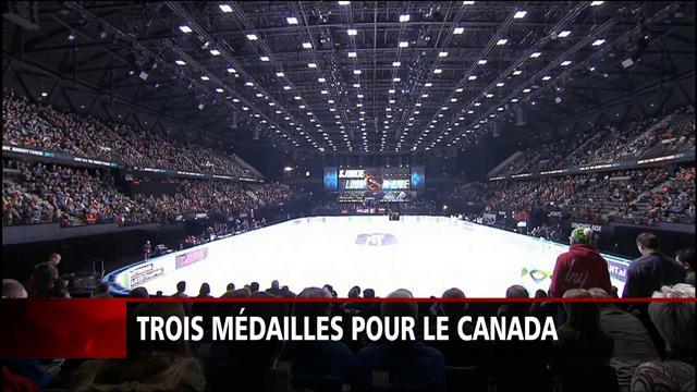 St-Gelais, double médaillée d'argent aux mondiaux